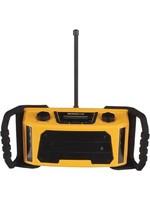 Robuuste bouw- of werfradio- DAB/DAB+/FM - 2 x 2.5 W