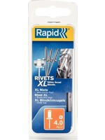 Rapid Rapid blindklinknagel XL 4.0x10mm incl. boortje (50st)