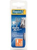Rapid Rapid blindklinknagel rvs + drill 4.0x14mm (50st)