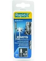 Rapid Rapid blindklinknagel 4,8 x 16 mm 50 stuks
