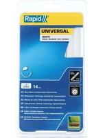 Rapid Rapid 40107361 Lijmpatroon - D12 - Universeel wit - 190x12mm (14st)