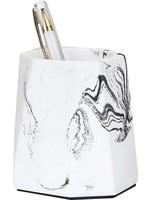 The Otter Bottle Pennenbakje met mooi marmeren patroon