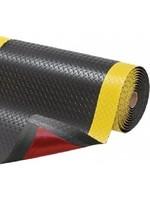 Notrax Notrax 479 Cushion Trax® Antivermoeidheidsmat 60 x 91 cm met veiligheidsrand Geel/Zwart