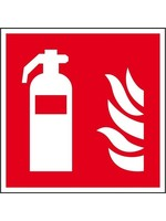 Bord brandblusser pictogram ISO 7010 200 x 200 mm