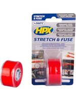 HPX HPX Stretch & Fuse afdichttape 25mm x 3mtr - Rood