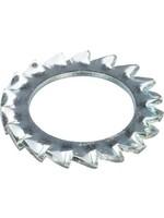 Hoenderdaal Hoenderdaal Tandveerring staal verzinkt M10 din6798az - doos à 100 stuks