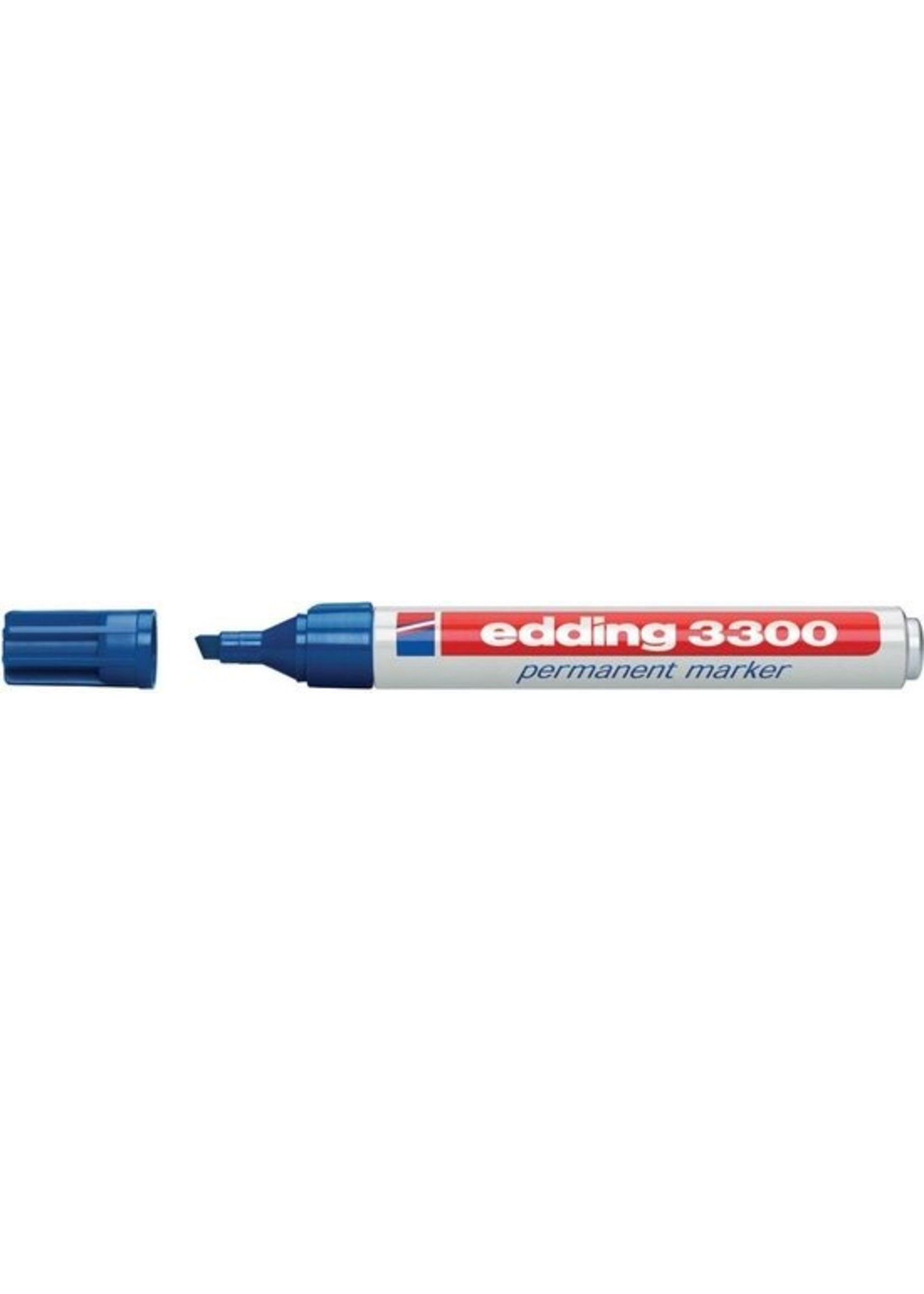 Edding Edding 3300 Permanent Marker Blauw