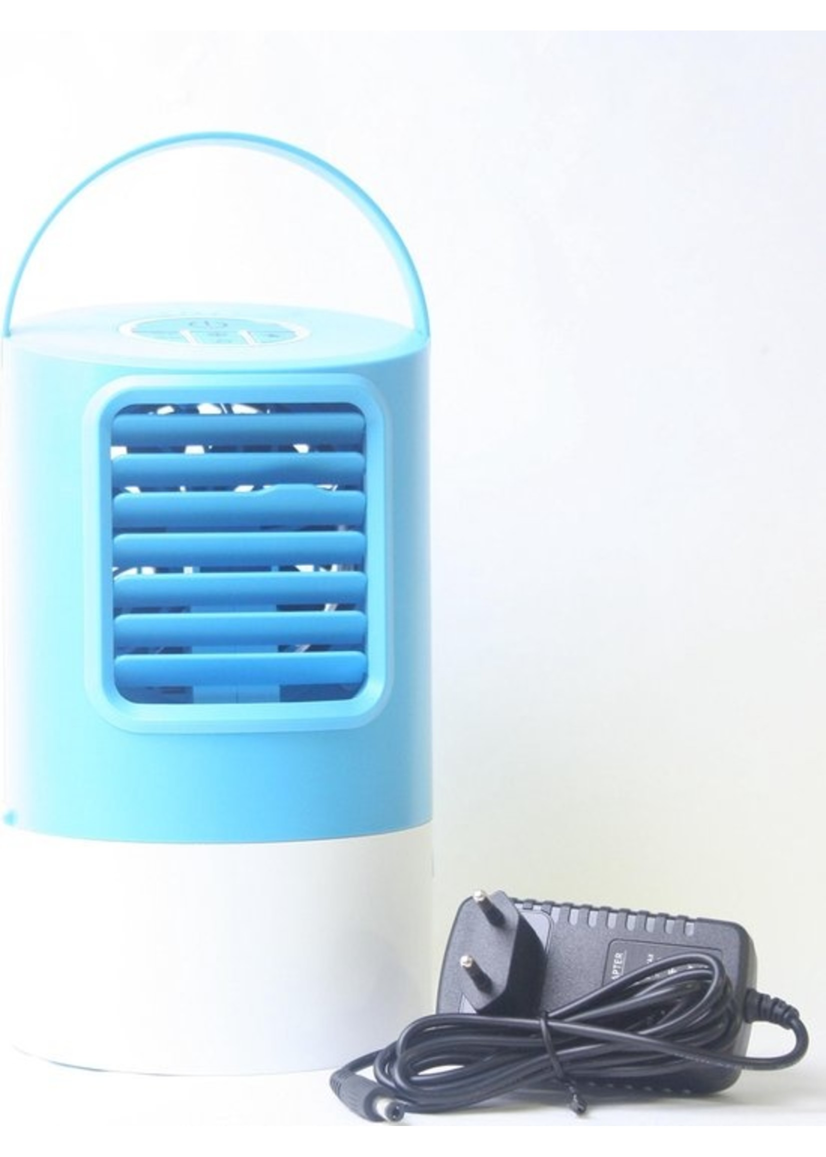Draagbare Luchtkoeler/ventilator - blauw