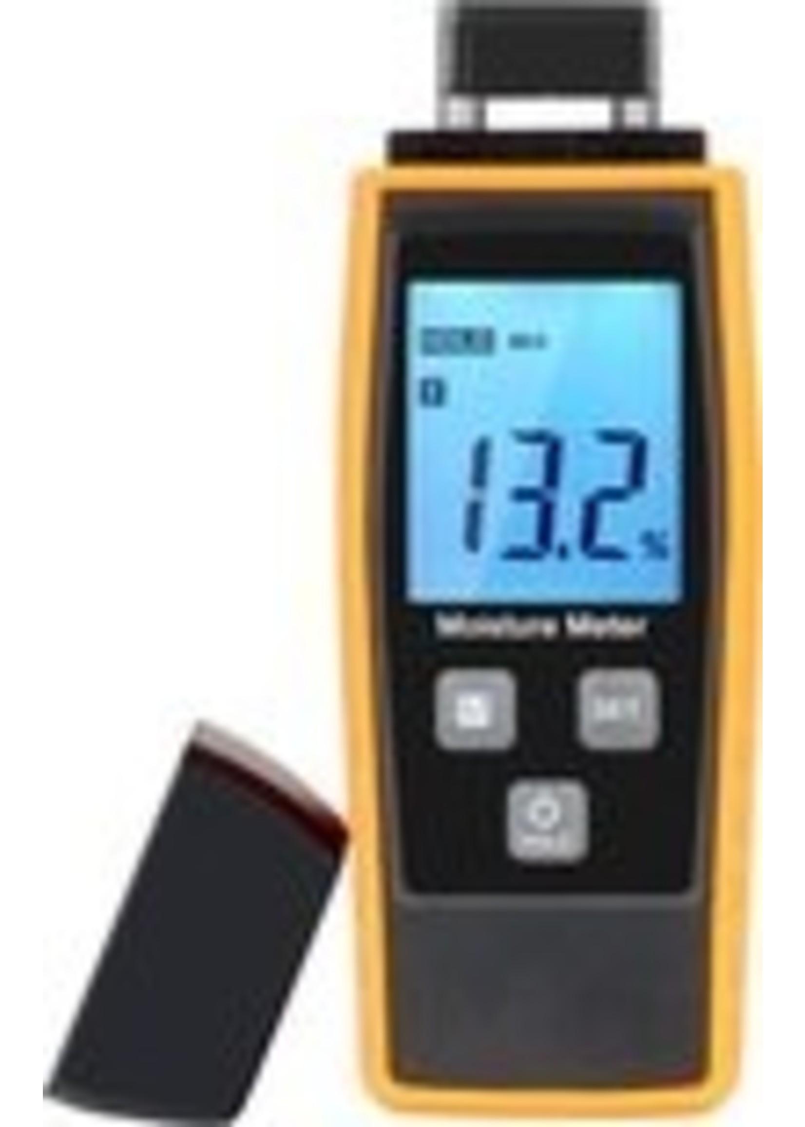 Spider Digitale (hout) vochtmeter voorzien van 2 sondes.