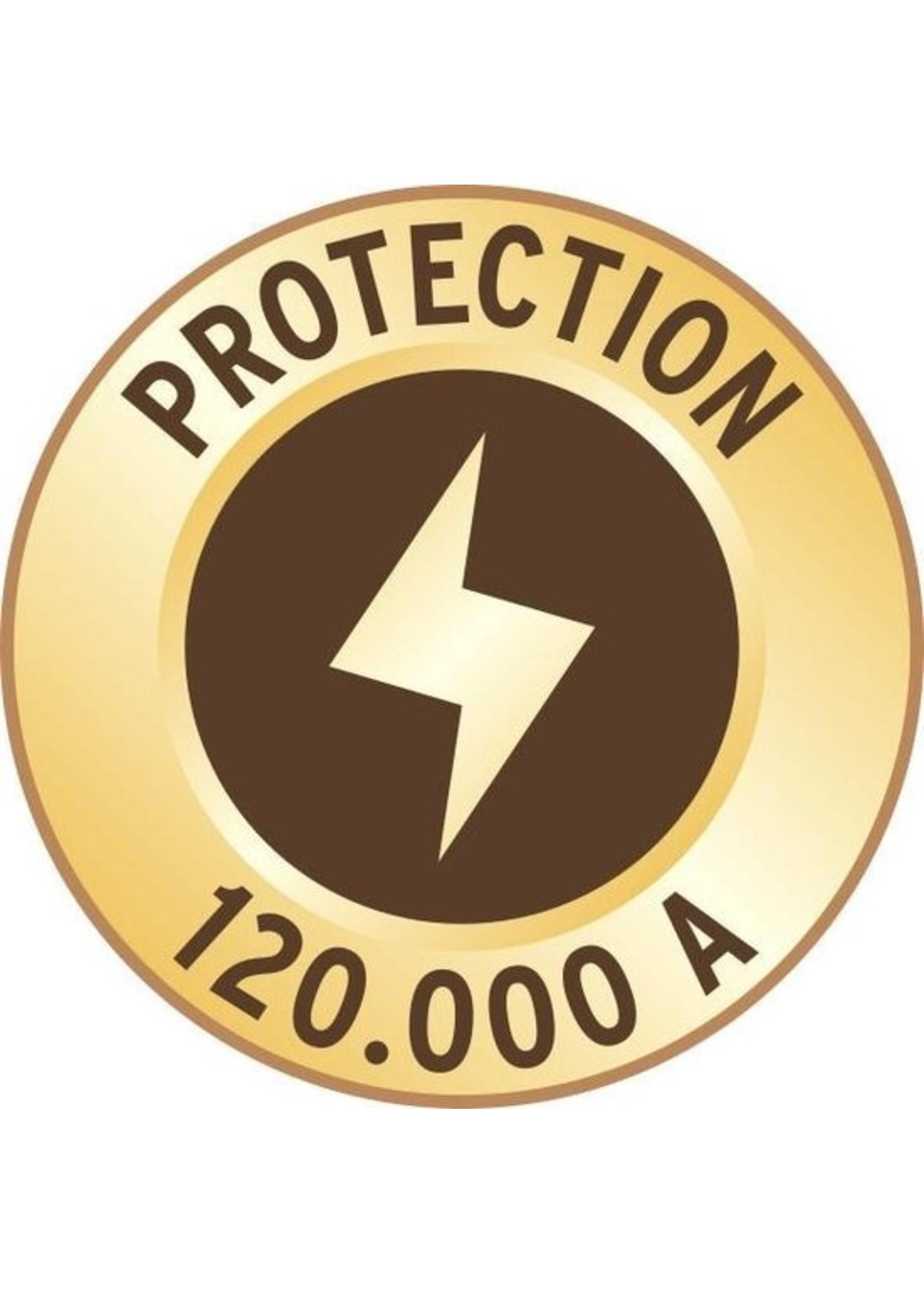 Brennenstuhl Brennenstuhl Premium-Protect-Line stekkerdoos met 14 contacten, 2x USB en overspanningsbeveiliging / zwart - 3 meter