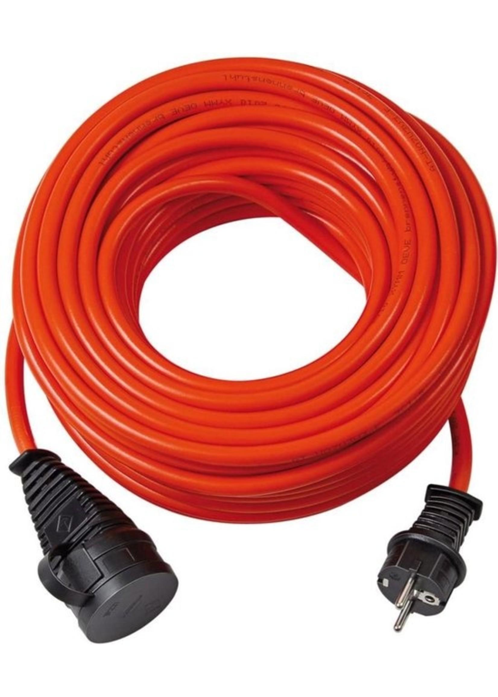 Brennenstuhl Brennenstuhl Bremaxx IP44 Verlengkabel - Geschikt voor buitengebruik - Oranje - 3x1,5mm2 - 25 meter
