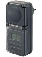 Brennenstuhl Brennenstuhl 1506706 Timer/power strip digital 24h mode IP44 Programmable ON/OFF settings , Daylight savings control, RND mode