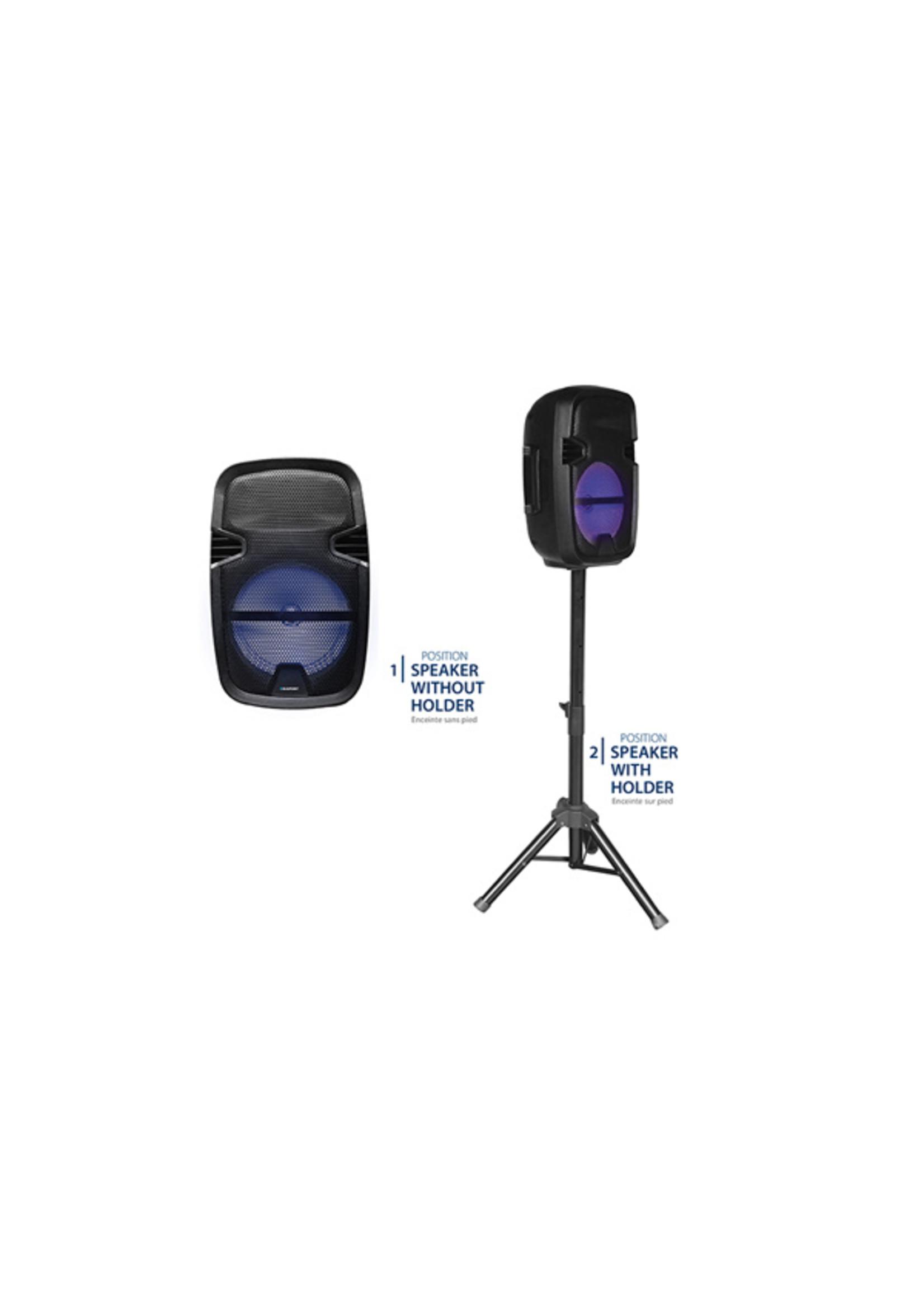 Blaupunkt Blaupunkt Bluetooth - speaker met lichteffecten - met statief