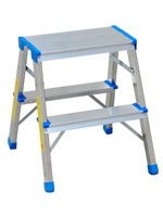 Spider & Co Aluminium professioneel trapje met 2 treden