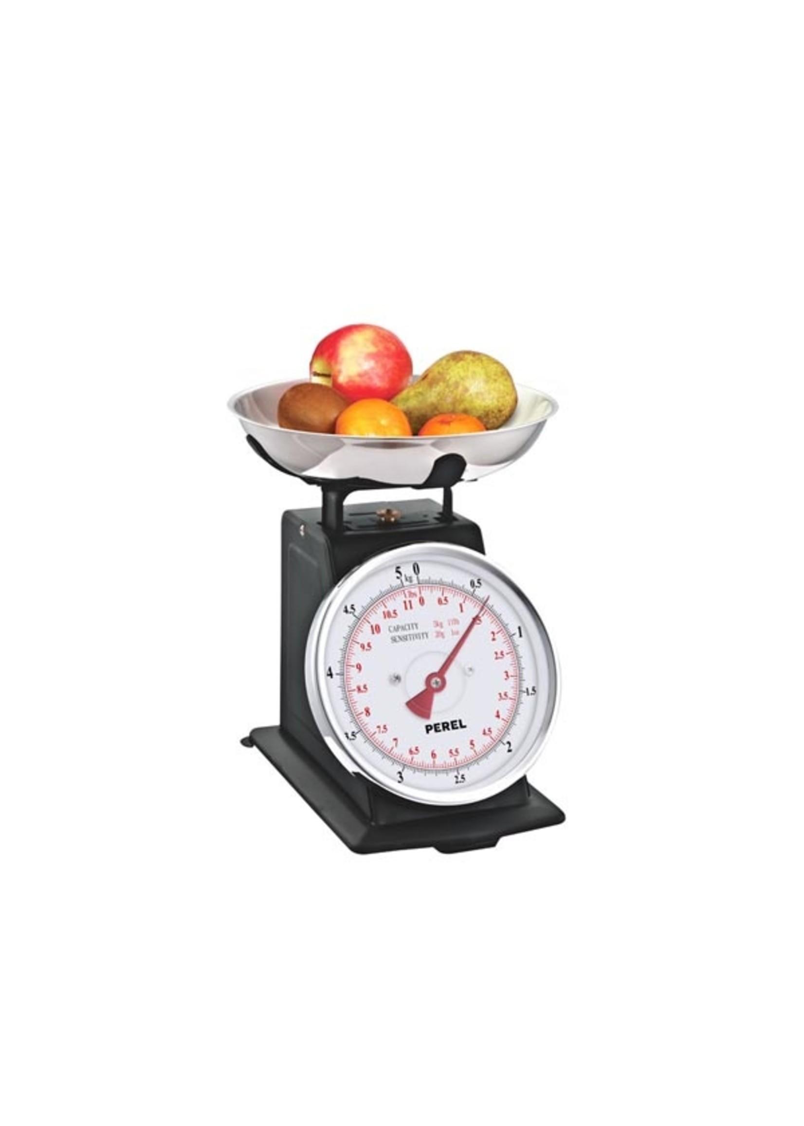 Perel Analoge keukenweegschaal 5kg/20 gram