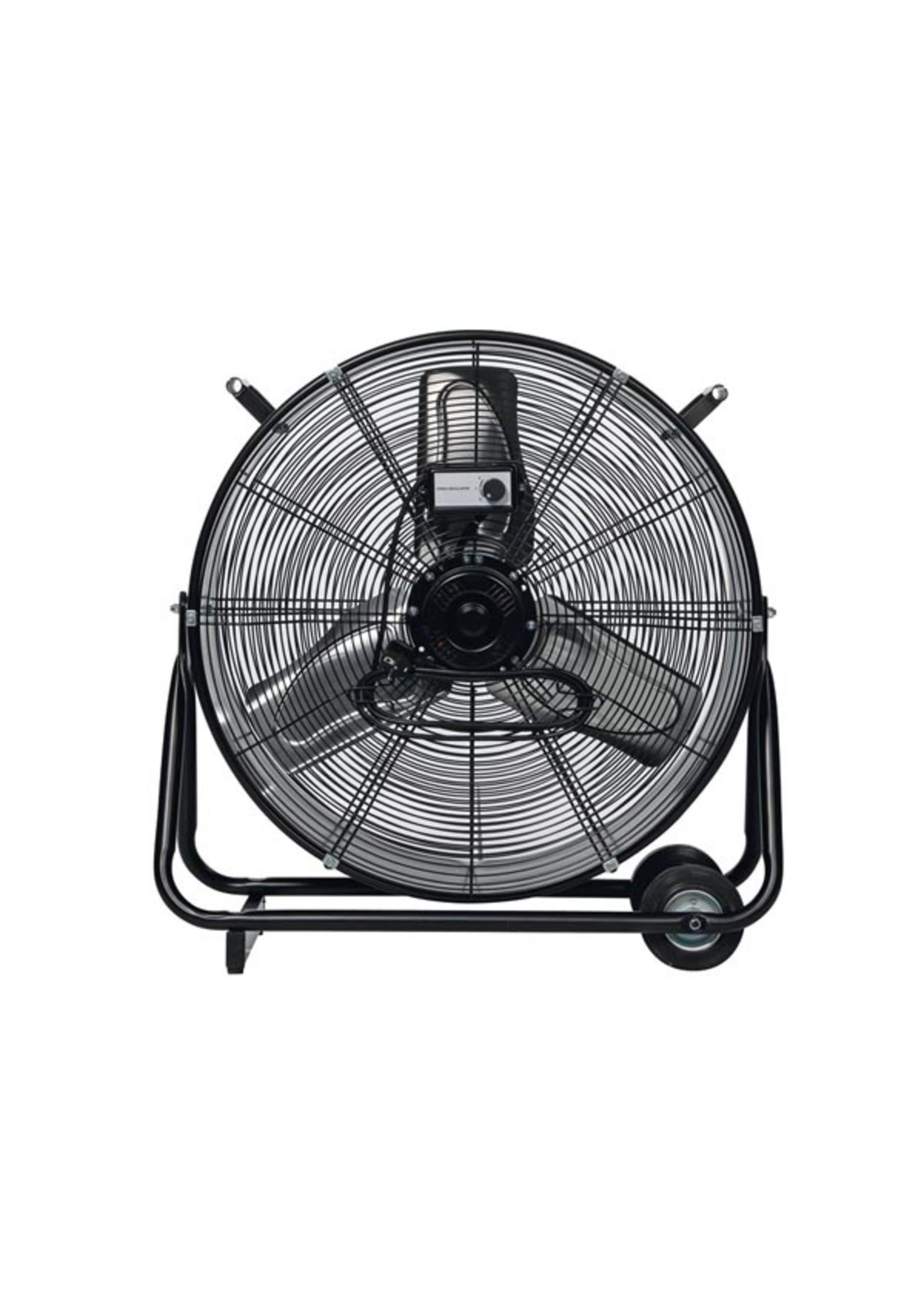 Perel Design Ventilator   Industrial look   60 cm   330 Watt   Zwart