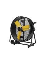 Stanley STANLEY ST-24DCT-E Vloer Ventilator - Zwart/geel