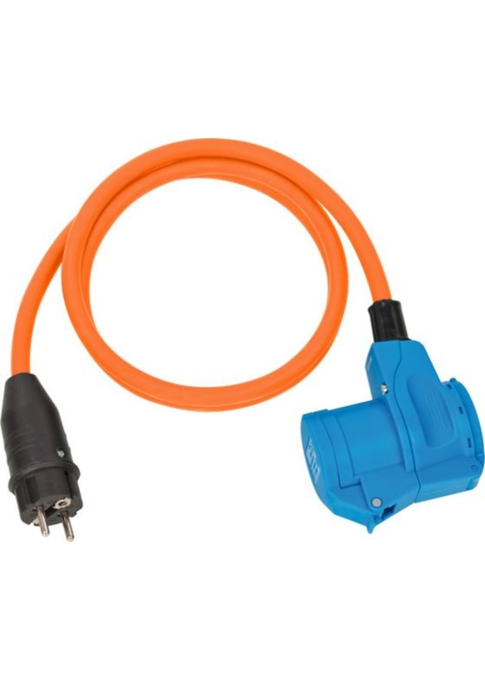 Brennenstuhl Brennenstuhl Adapterkabel CEE IP44 1.5m oranje H07RN-F 3G2.5 Beveiligingsstekker. haakse koppeling 230V/16A
