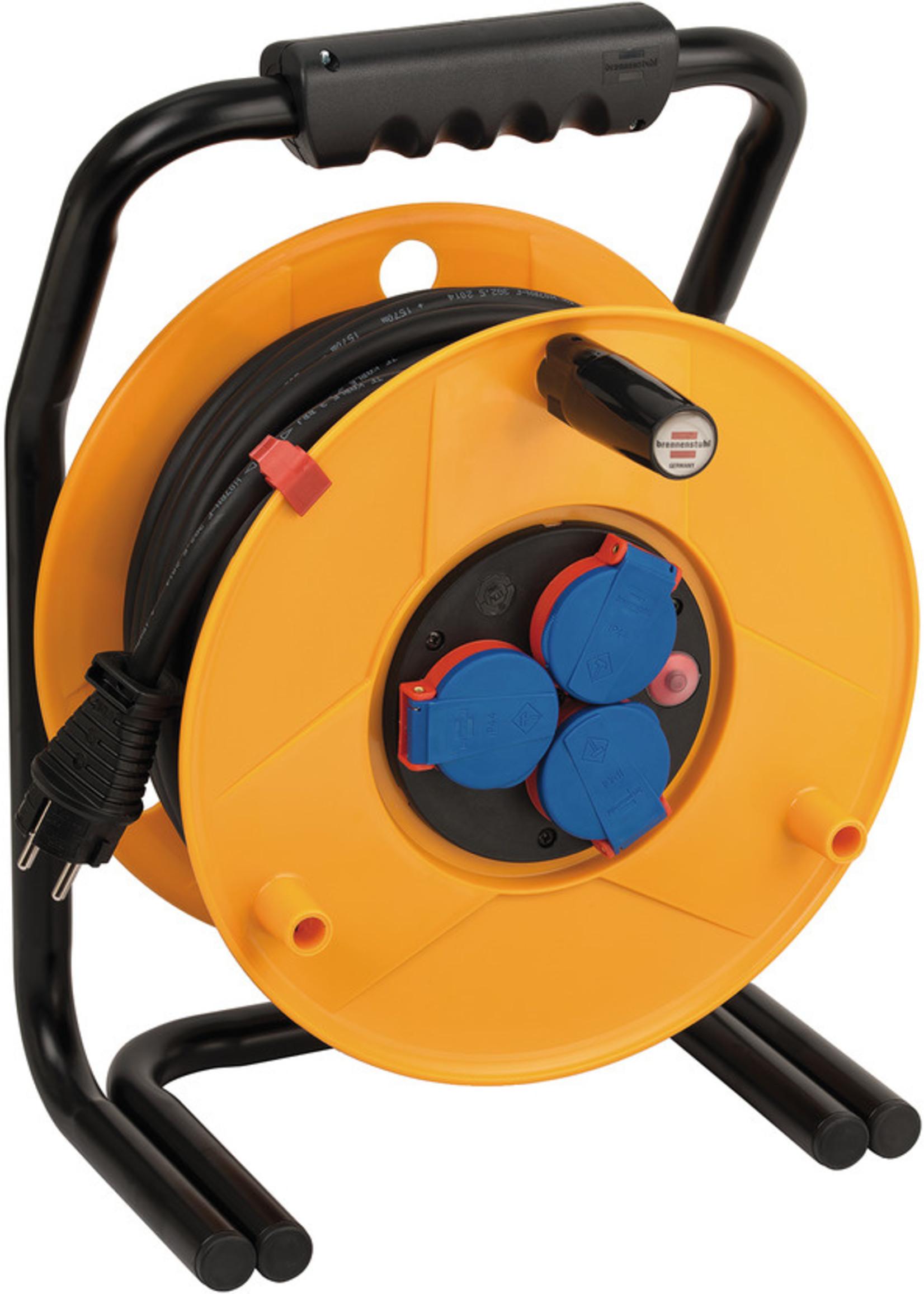 Brennenstuhl Brennenstuhl Brobusta IP44 kabelhaspel voor nijverheid/bouw 25m H07RN-F 3G2.5