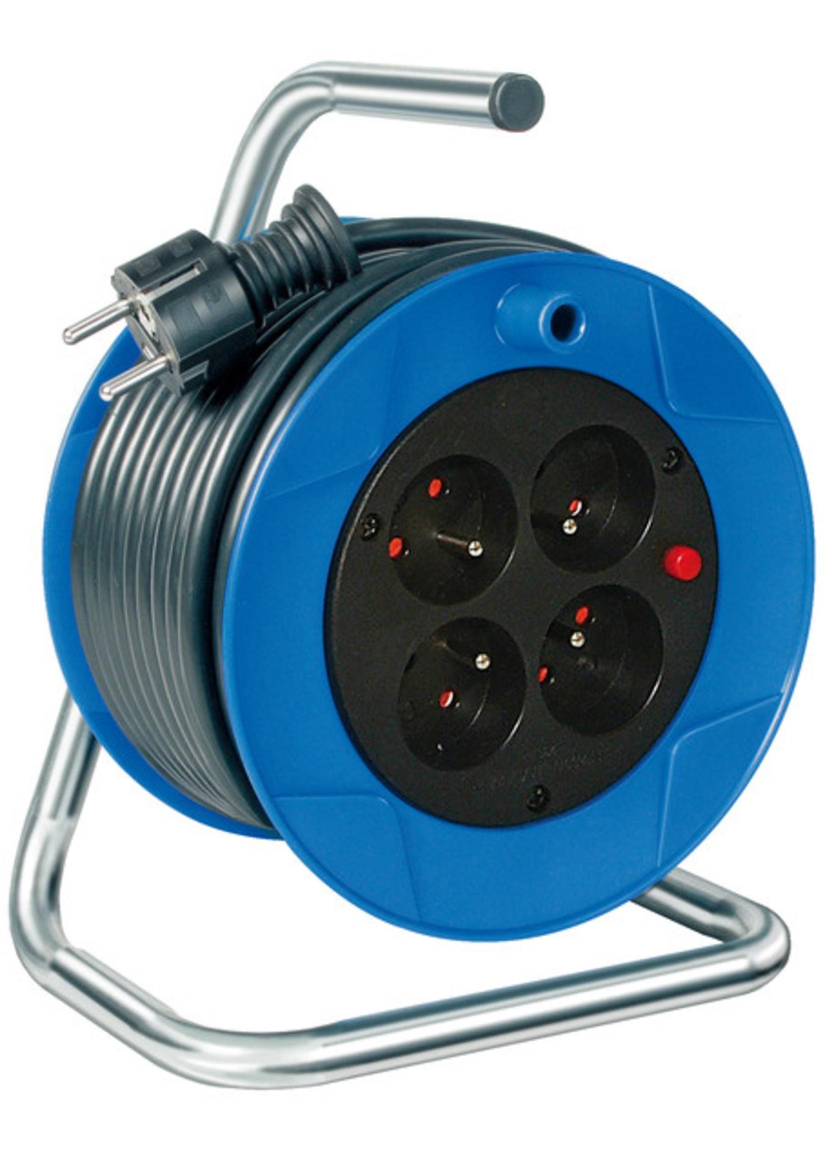 Brennenstuhl Brennenstuhl Compact kabelhaspel 15m H05VV-F 3G1.5 *FR*