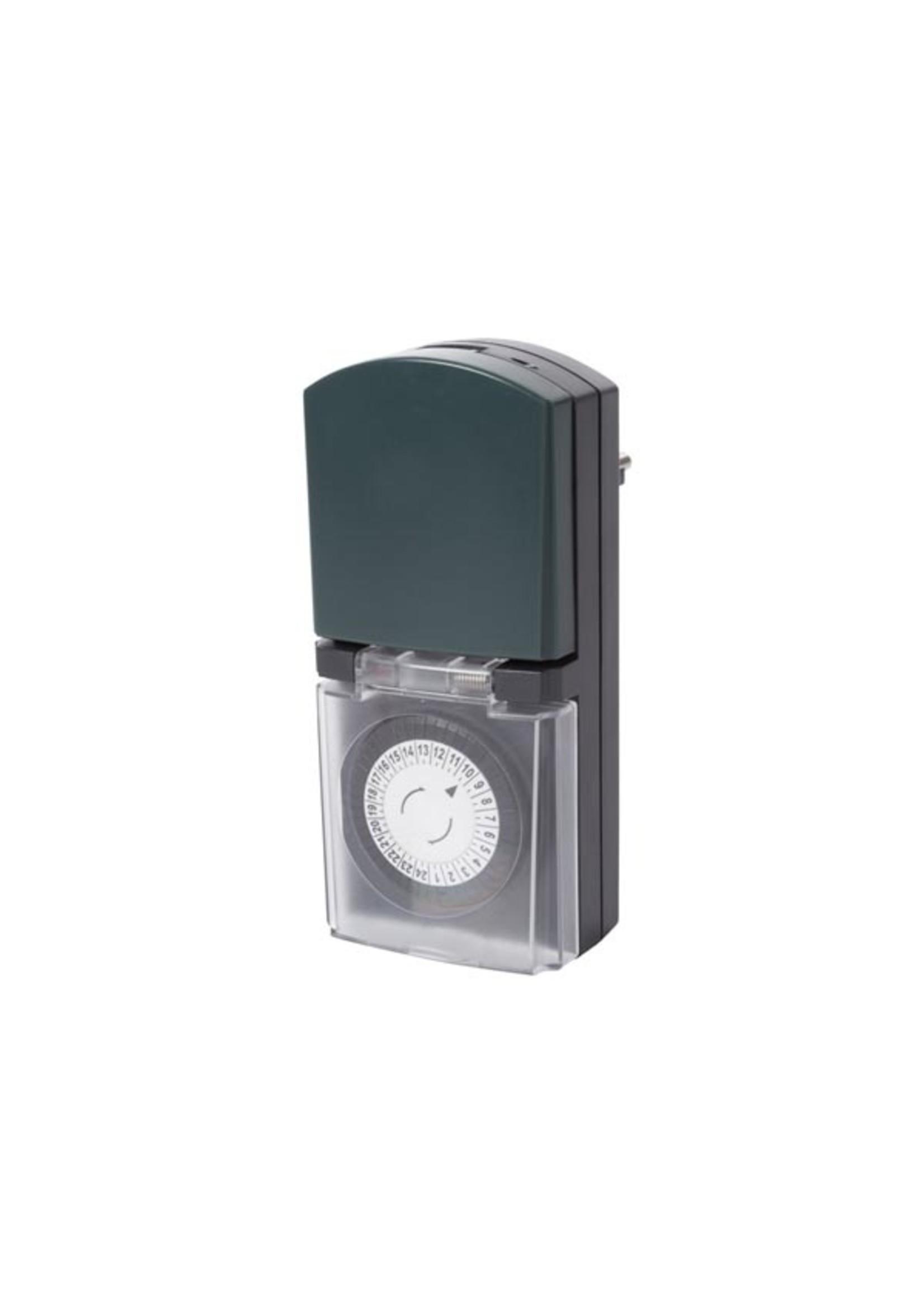 Perel Digitale Timer voor gebruik buitenshuis met randaarde IP44