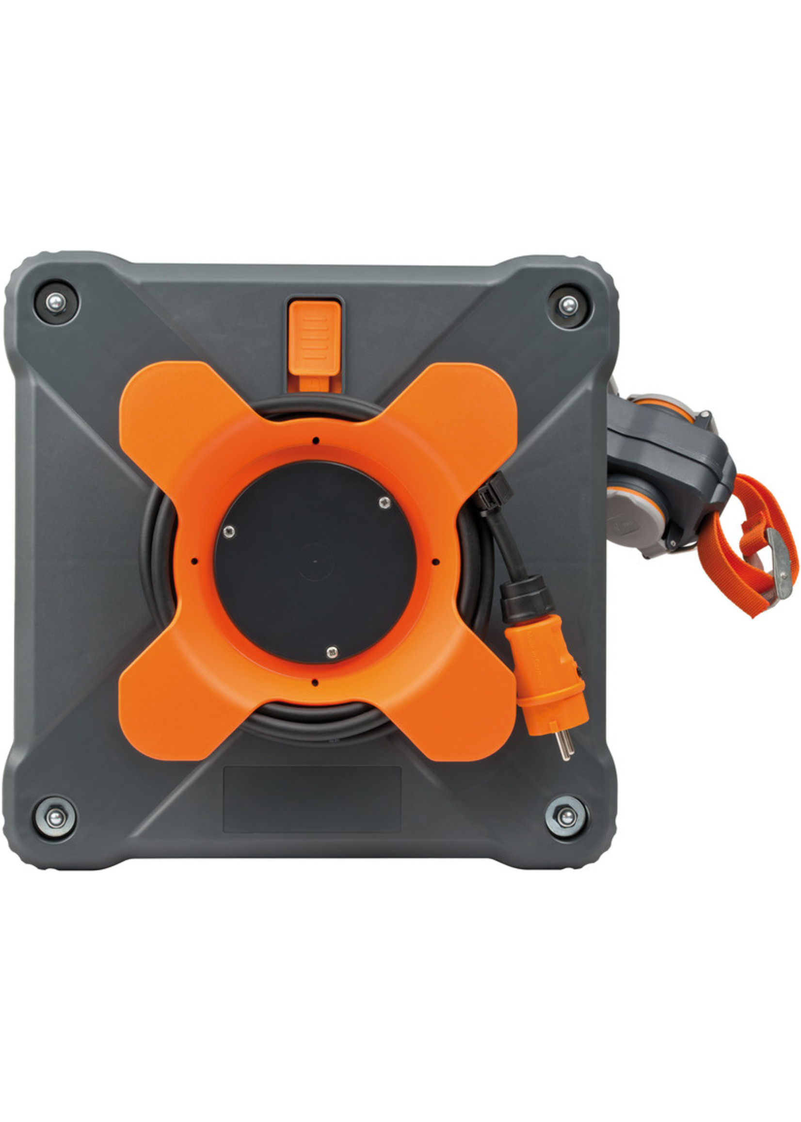 Brennenstuhl Brennenstuhl 9211380100 - Cube kabelhaspel IP44 33+5m H07RN-F 3G1.5