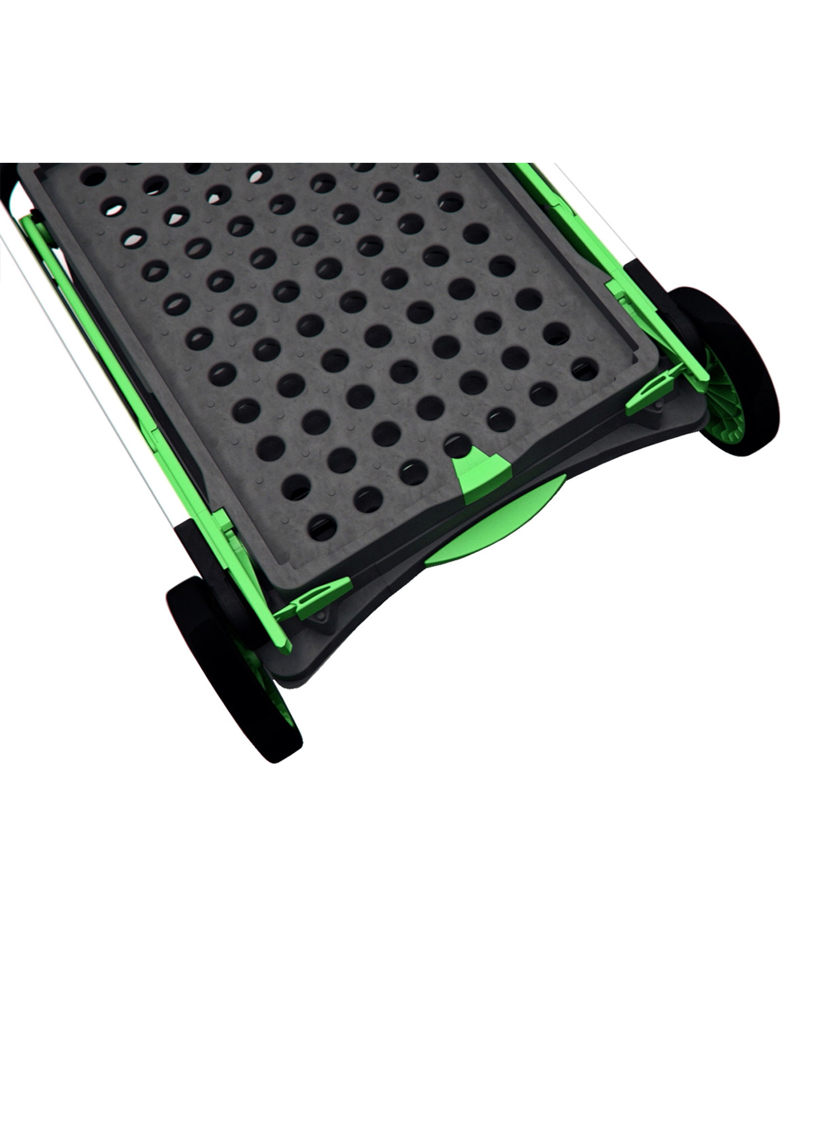 Clax Clax trolley inclusief vouwkrat Groen