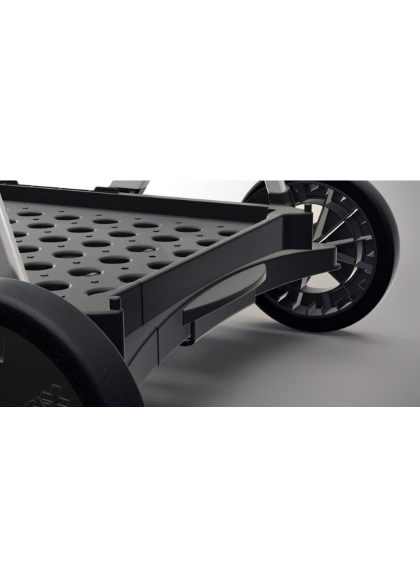 Clax Clax trolley inclusief vouwkrat - Zwart