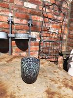 The Otter Bottle Set van 2 koffie-/theekopjes - bruin gemêleerd