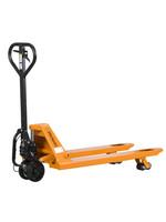 Palletwagen met een hefgewicht tot 2.500 kg. Vorklengte 1150 mm Easy Start-Stop systeem
