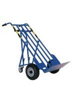 Steekwagen staal in 3 richtingen te gebruiken