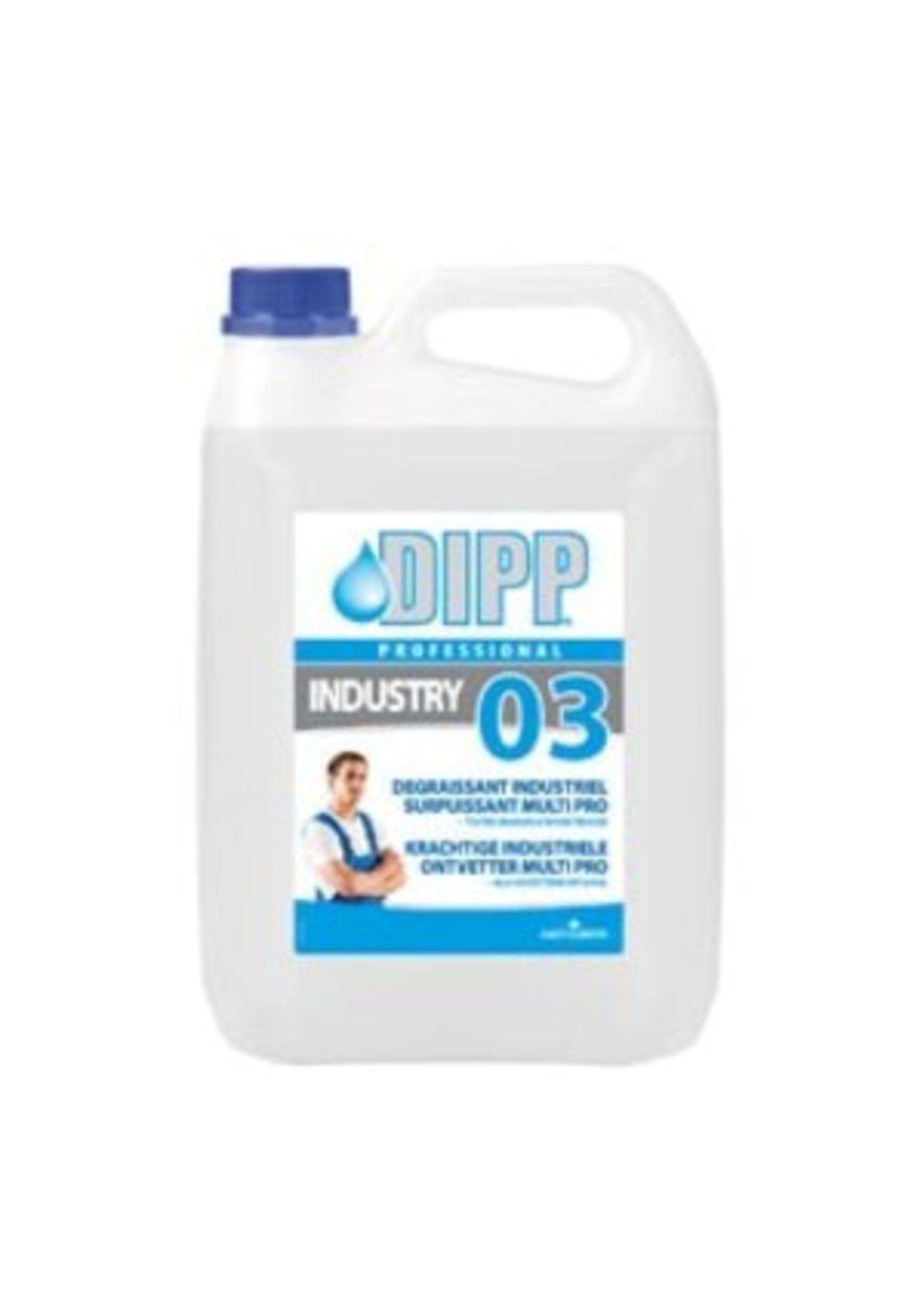 DIPP DIPP N° 03 -5L Krachtige Industriële Ontvetter Multi-pro