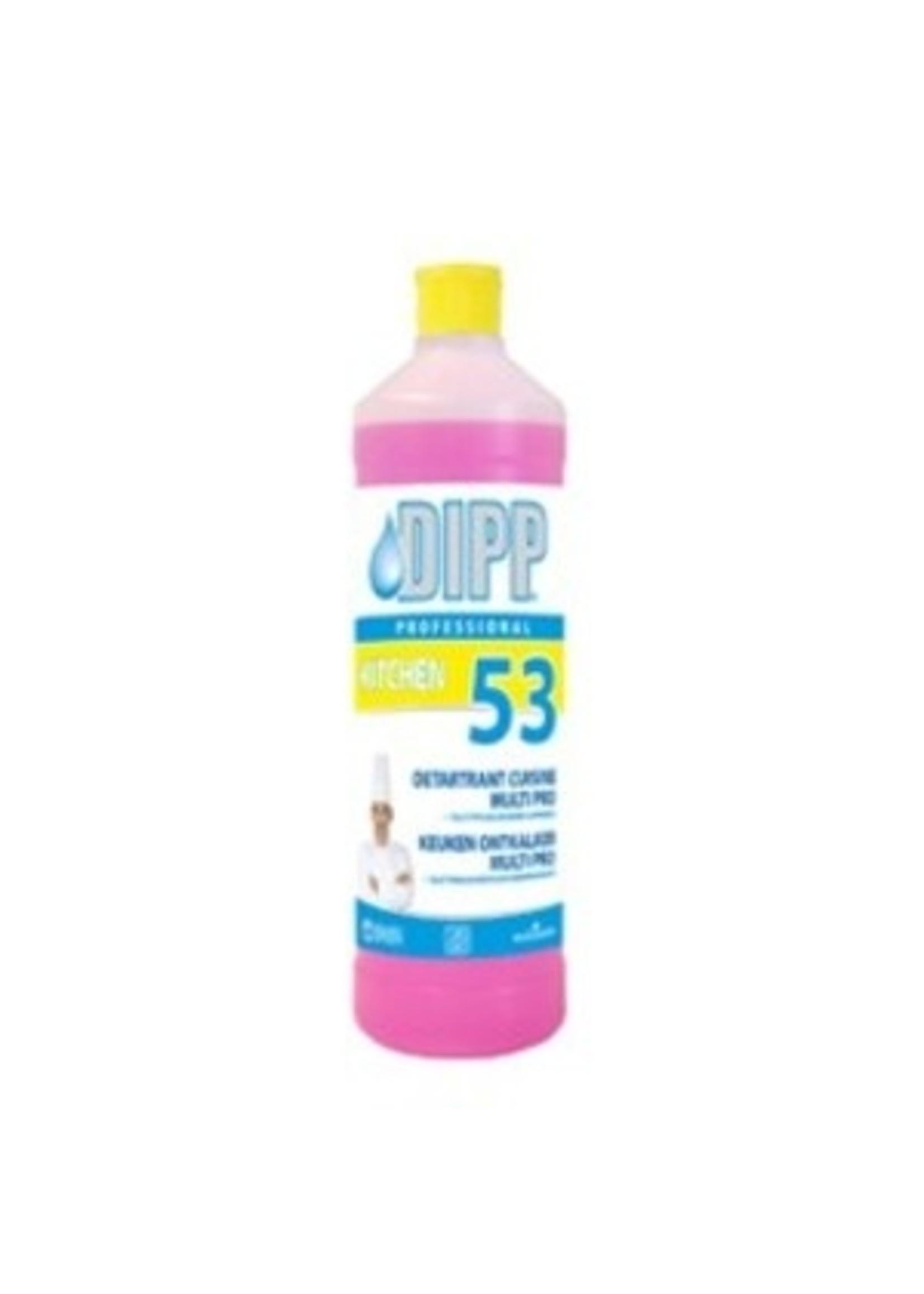 DIPP DIPP N°53 - KEUKEN ONTKALKER MULTI PRO 1L