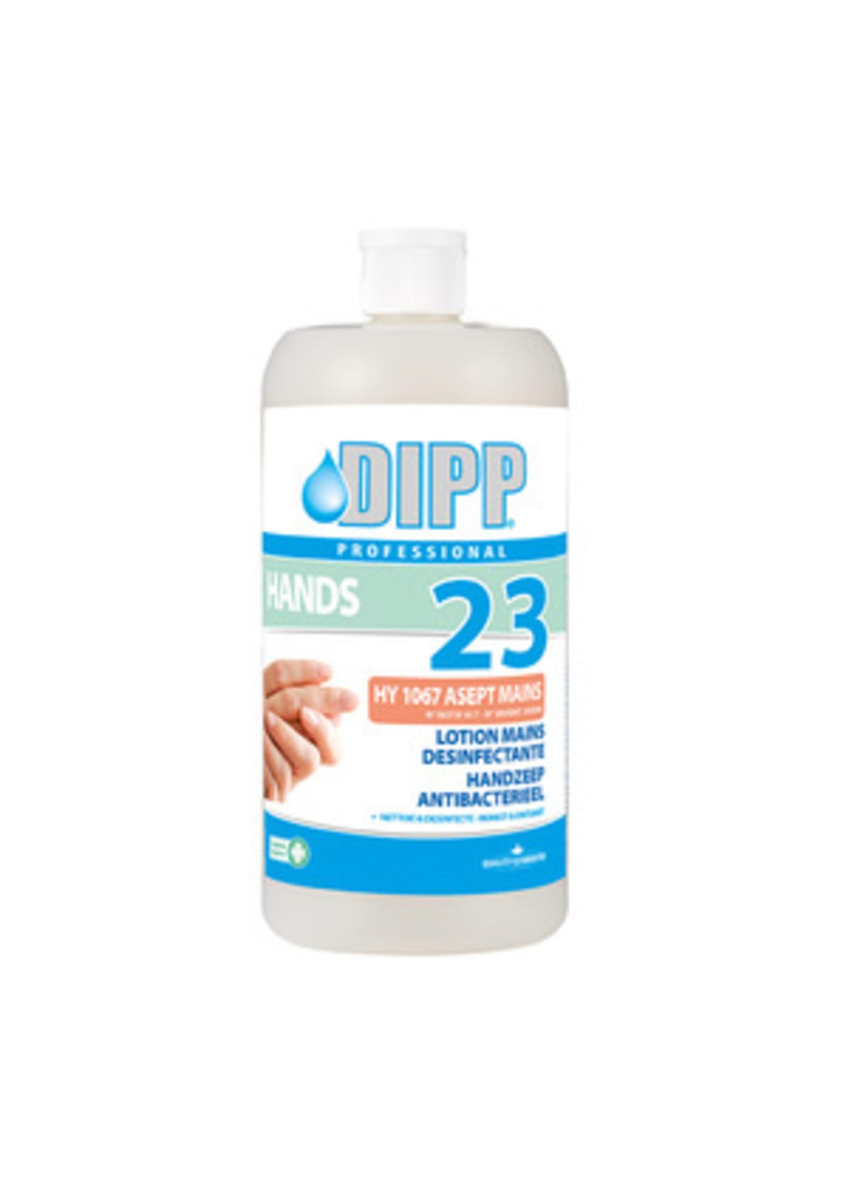 DIPP DIPP N°23 - HANDZEEP ANTIBACTERIEEL 1L