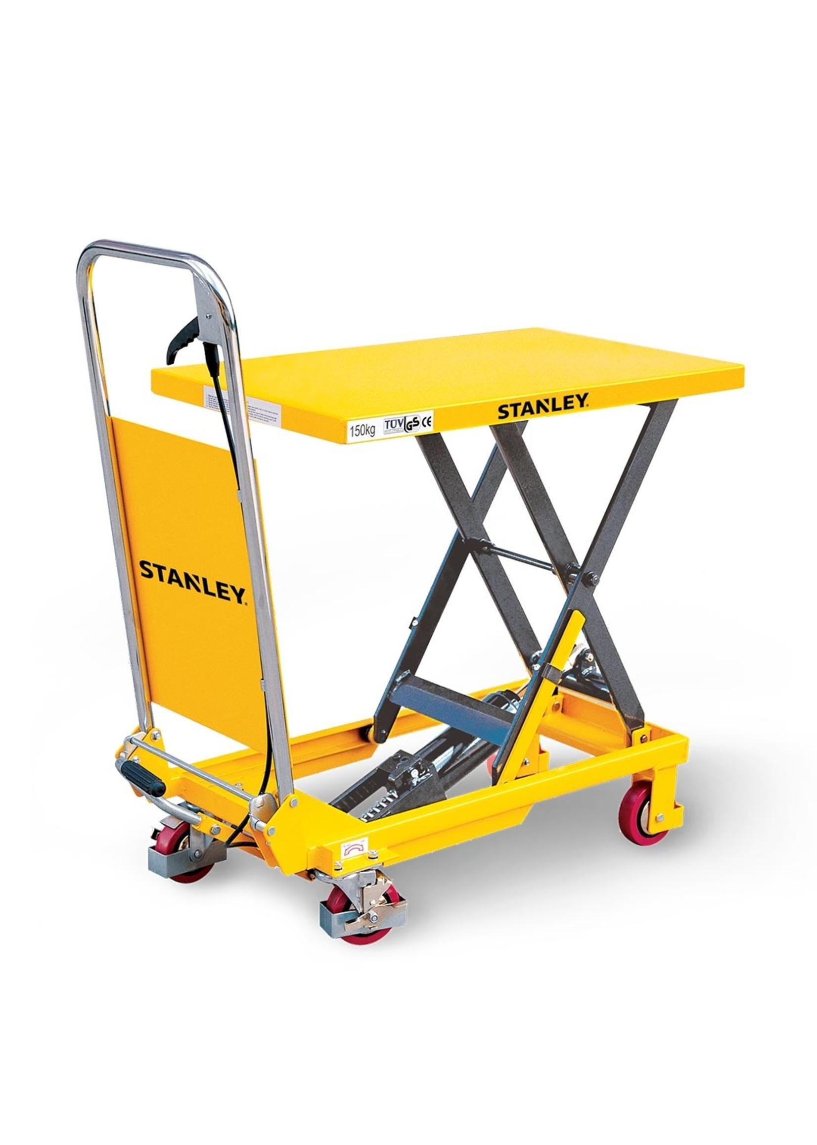 Stanley  Stanley mobiele schaarheftafel tot 150 kg hefvermogen.