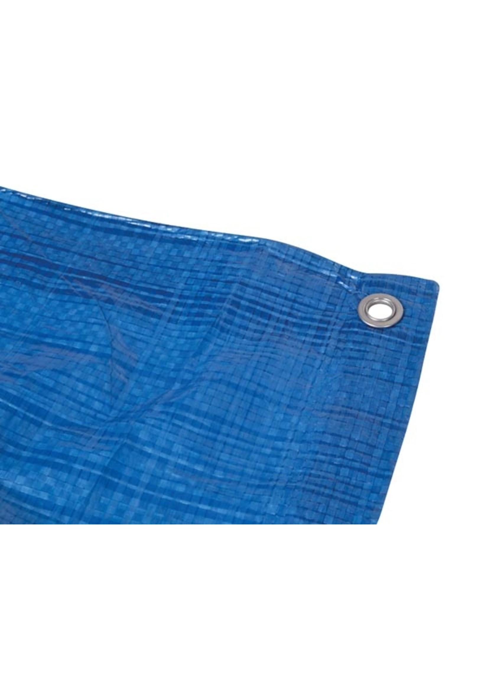 Afdekzeil 5 X 5 Meter Polyester Blauw