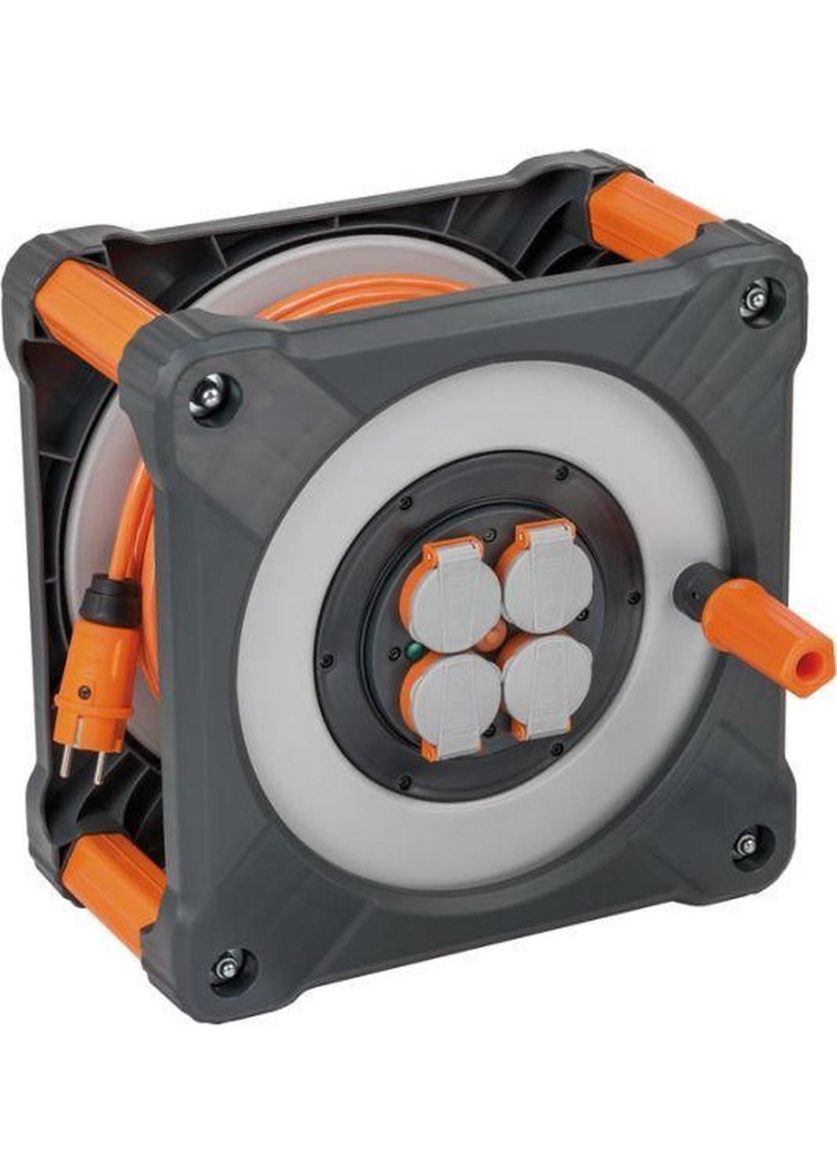 Brennenstuhl Brennenstuhl kabelhaspel Cube 33mtr 3x1.5mm - IP44