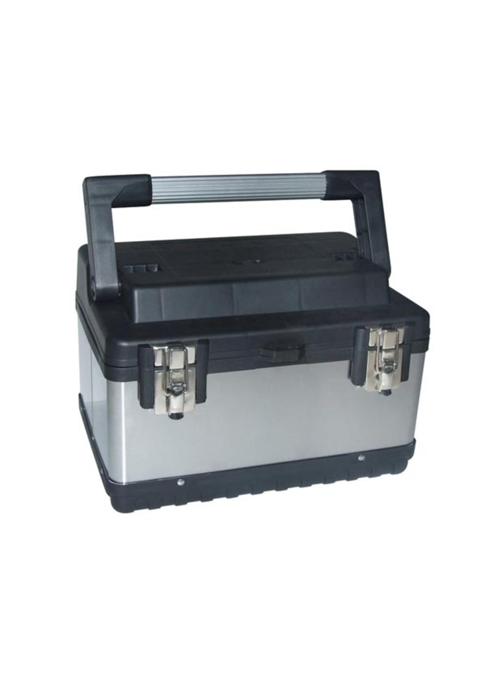 Perel Gereedschapskoffer - Roestvrij Staal - 380 X 270 X 225Mm