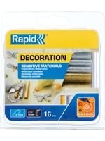 Rapid RAPID D9mm Lage temperatuur lijm patronen - Zilver-goud glitter - 125g - 40108463