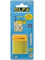 Olfa Olfa art-knive AK1 reserve mesjes