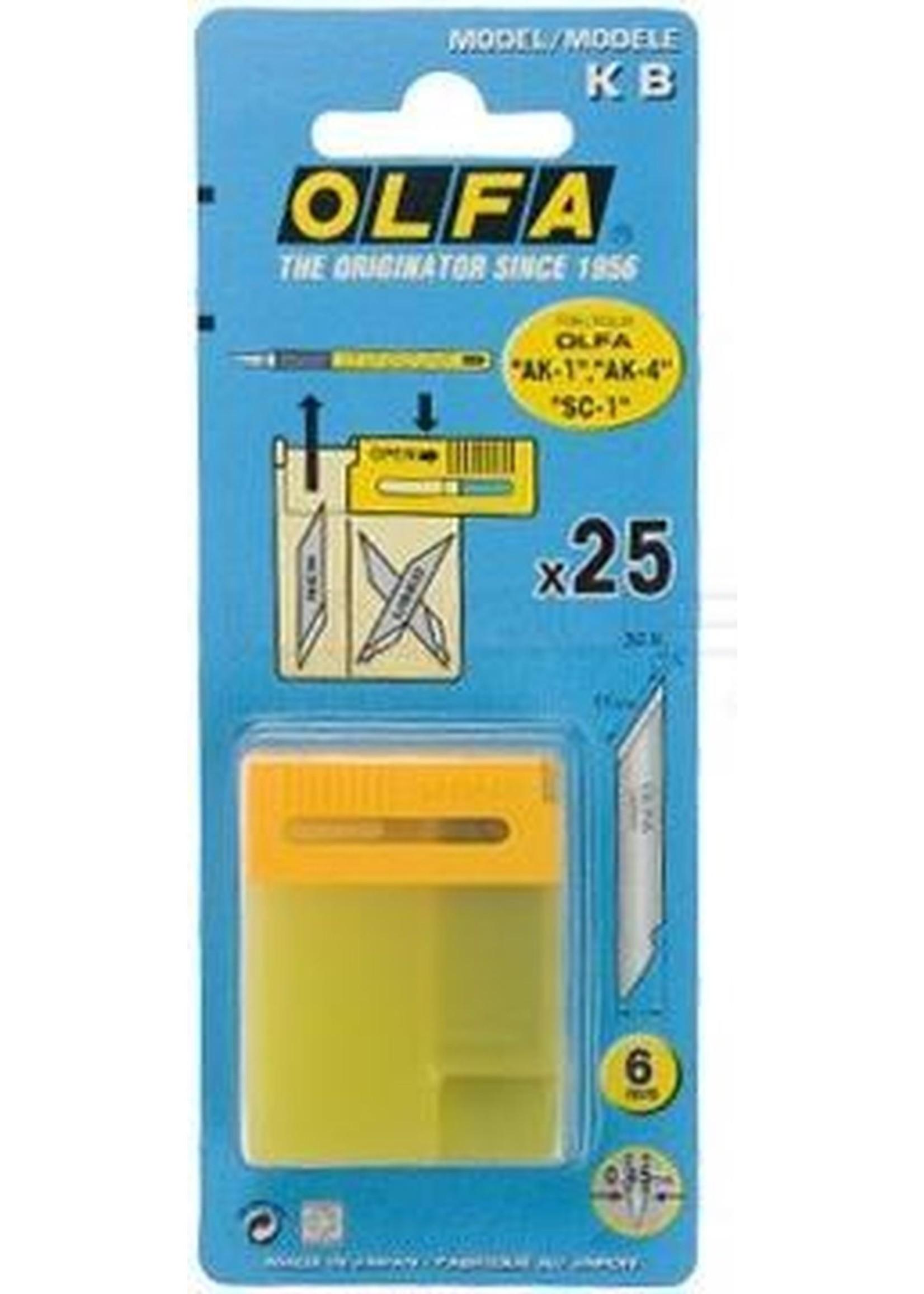 Olfa Olfa art-knive AK1 reserve mesjes 25 stuks