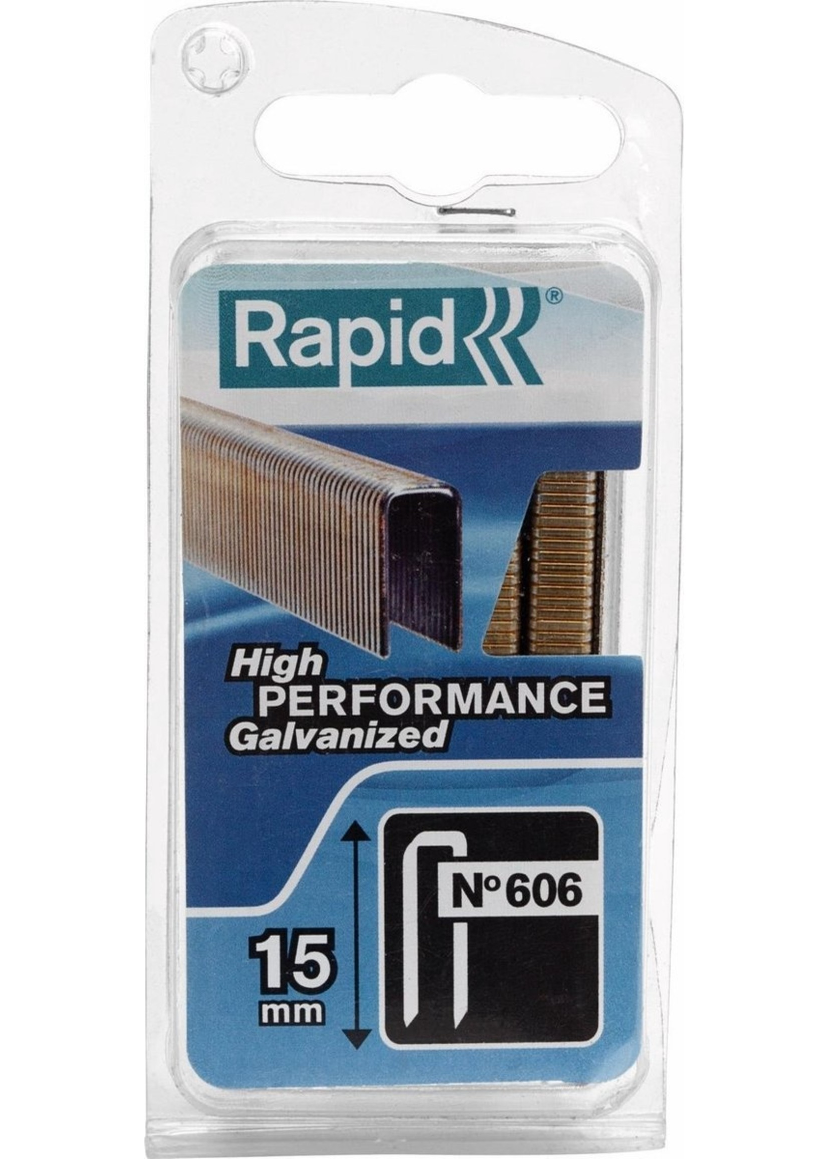 Rapid Rapid Nieten - No 606 - 15 mm 600 stuks