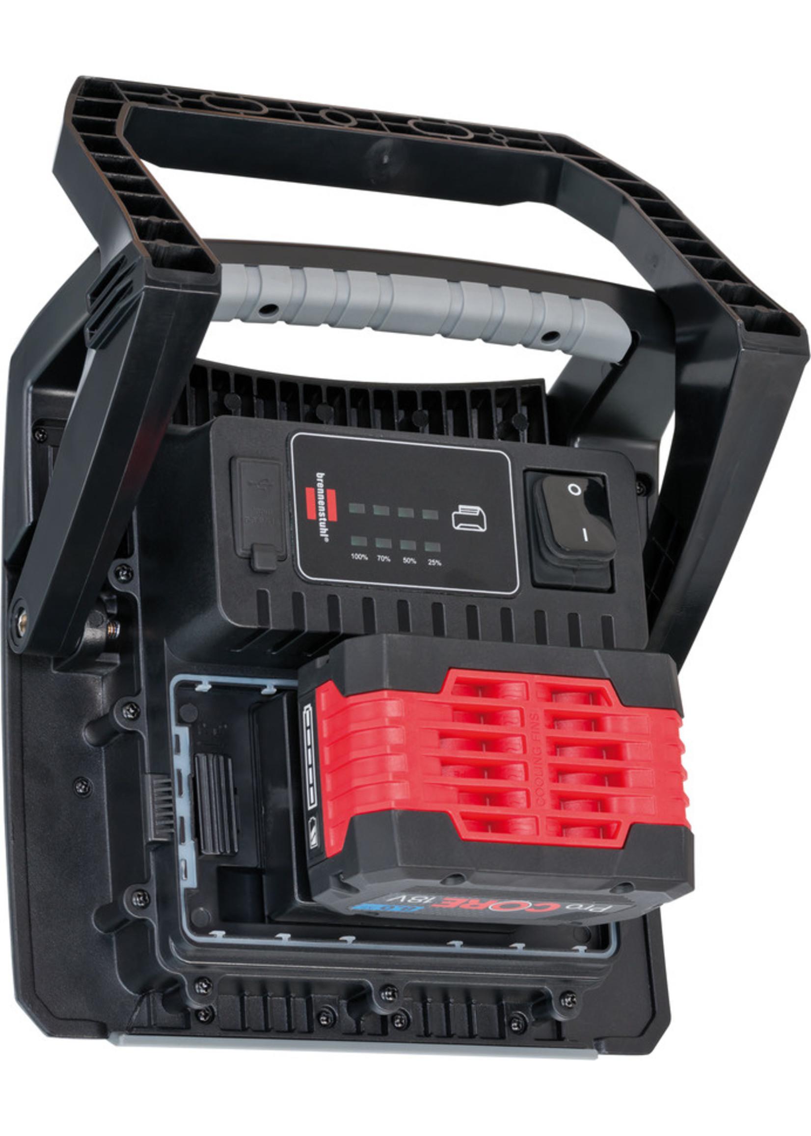 Brennenstuhl Brennenstuhl  Multi Bouwlamp / Schijnwerper4000 MA LED  werkt op accu 40 W 4500 lm