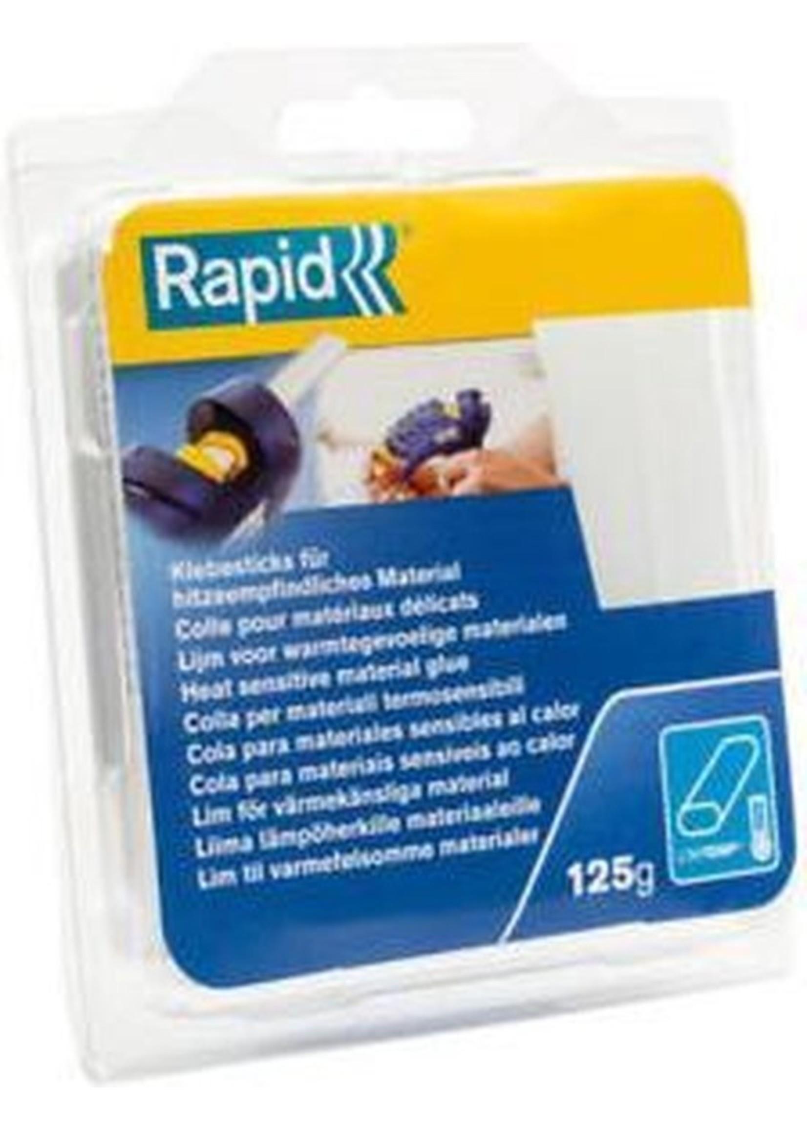 Rapid Rapid lijmpatronen ovaal 9x94mm universeel blister transparant (16)
