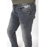 Cars Jeans Blackstar Tapered Str. Black Used