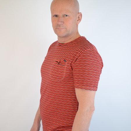 Gabbiano T-shirt Red 15206