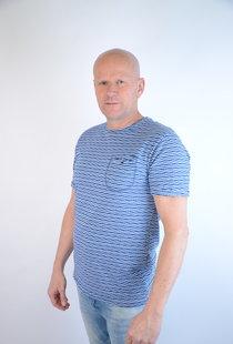 T-shirt Cobalt 15206