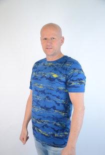 T-shirt Cobalt 15214
