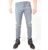 Cars Jeans Henlow Regular Coated Grey Blue