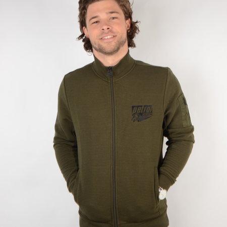 Petrol Sweater Collar Dark Army (SWC320)